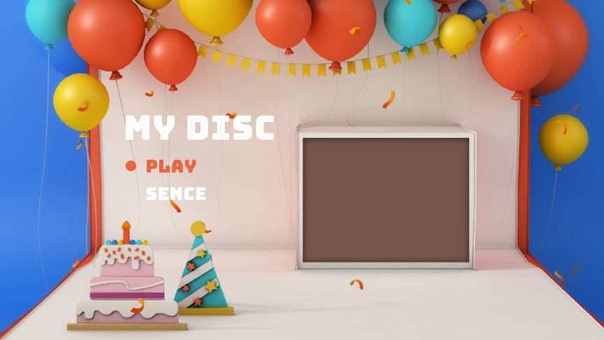 Baby DVD-Menü