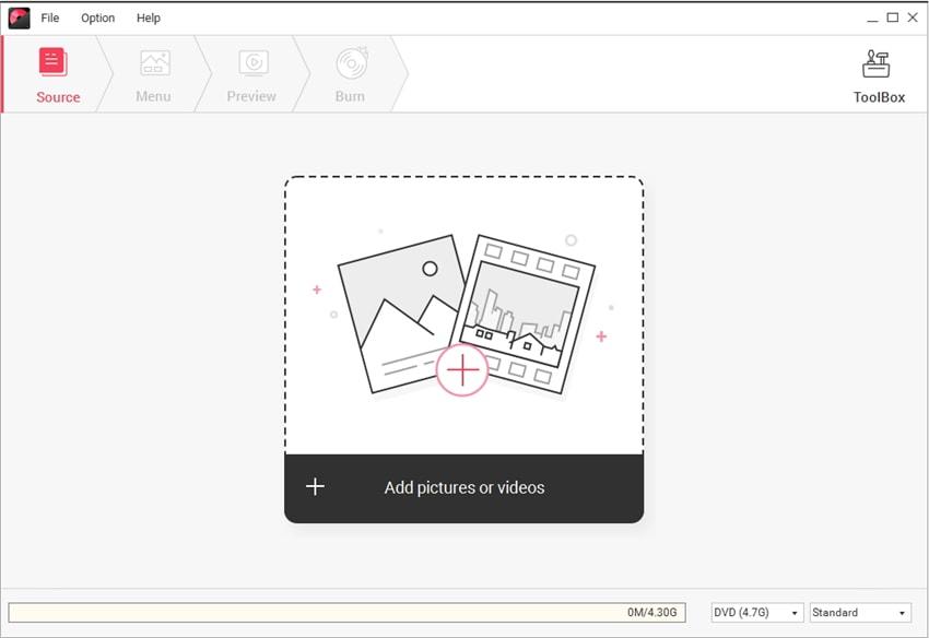 add video/photos to DVD Creator Mac