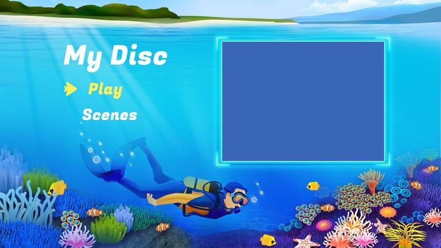 Reise DVD-Menü